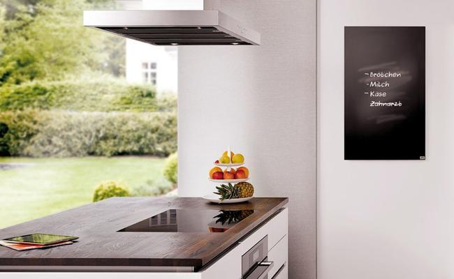 Eine Tafelheizung im Küchenbereich